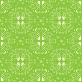 Light green seamless pattern for background - vector Royalty Free Stock Images