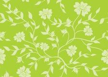 Light green seamless texture - vector Stock Image