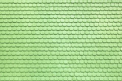 Light green shingles Royalty Free Stock Images