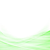 Light green speed swoosh line abstraction shadow Stock Images