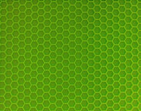 Light green stand for hot. Light green stand for hot in the form of a honeycomb Stock Photos