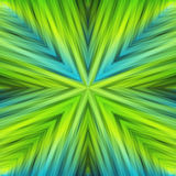 Light Green Striped Angular Background of Spring Colors. Gradient Texture of Symmetric Intersecting Lines from Center stock illustration