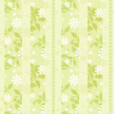 Light green striped wallpaper Stock Photography