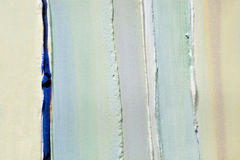 Light green strips of thick layers of paint, plaster Stock Photo