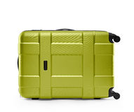 Light green suitcase. lying on its side Stock Photography