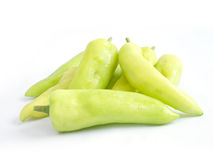 Light green sweet pepper Stock Photo