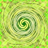 Light green swirl background. In vivid colors royalty free stock images