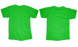 Light Green T-Shirt Template Royalty Free Stock Photo