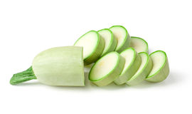 Light green turkish zucchini's Royalty Free Stock Photo