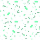 Light Green vector seamless texture in rectangular style. gradient illustration with rectangles. background with many falling tiny vector illustration