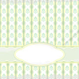 Light green vintage card Royalty Free Stock Photography