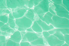 Light green water ripple background Royalty Free Stock Photos