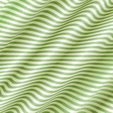 Light Green Wave Background Vector Stock Image