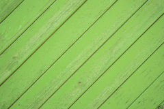 Light green wood boards diagonal Royalty Free Stock Images
