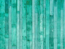 Light green wooden planks. Light green latticework connected to the wall Stock Image