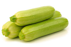 Light green zucchini's Royalty Free Stock Photos