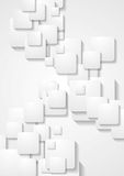 Light grey abstract geometric background Royalty Free Stock Photos