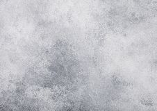 Light grey cement concrete stone wall texture background. Top view stock photo