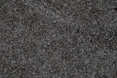 Light grey fine-grained gravel Stock Photography