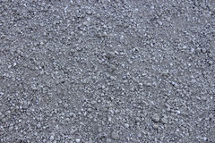 Light grey gravel & x28;Pebble& x29; floor texture, top view Stock Photo