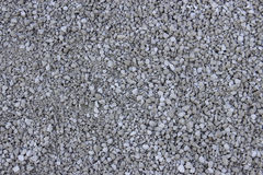 Light grey gravel & x28;Pebble& x29; floor texture, top view Stock Image