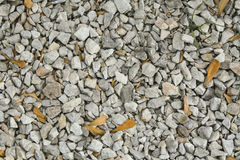 Light grey gravel (Pebble) floor texture, top view, Pebbles back stock image