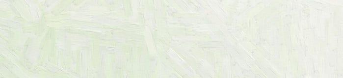 Light grey Oil paint with large brush strokes in banner shape background illustration. Light grey Oil paint with large brush strokes in banner shape background stock illustration