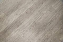 Light grey wooden floor background texture Stock Image