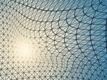 Light grid net. Abstract light grid net. 3D Rendering Stock Images