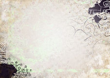 Light grunge background. Bright watercolor background with a splash in the grunge style Royalty Free Stock Photography