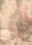 Light grunge brown recycled parchment with stains royalty free stock images
