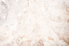Light grunge texture of old cracked concrete wall, destroyed plaster layer of antique surface. Historical architecture abstraction background royalty free stock photos
