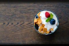 Light healthy breakfast Stock Images