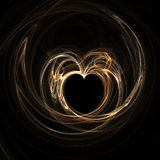 Light heart Royalty Free Stock Image
