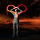 Light heart Stock Photo