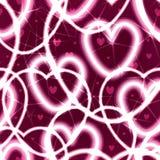 Light heart love seamless pattern Stock Images