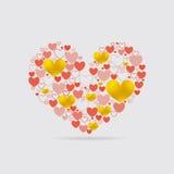 Light Heart Shape Royalty Free Stock Photo