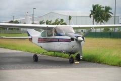 Light hobby airplane Stock Image