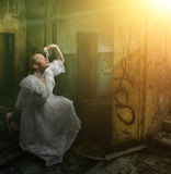 Light of hope Royalty Free Stock Photo