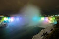 Light of Horseshoe Falls Niagara Stock Photos
