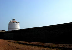 Light House_02. A lighthouse in Goa, India Stock Photo