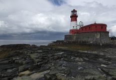 Light house. Lighthouse at longstone island, Farne islands UK Royalty Free Stock Images