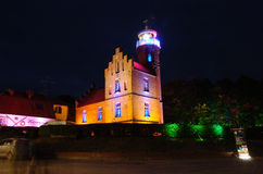 Light house. The ligh house of Ustka Royalty Free Stock Photo