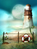 A light house Stock Photography