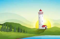 A light house Royalty Free Stock Photo