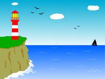 Light house Royalty Free Stock Photos