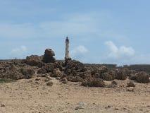Light house of aruba Stock Image
