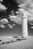 Light house in black&white, wollongong, Australia. Stock Photo