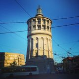 Light house. In Bucharest Romania Stock Photo