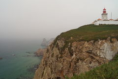Light house at Cabo da Roca Stock Image